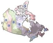 Regions of Canada