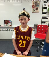 Peyton as LeBron James