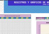 REGISTROS-GRÁFICOS DE NOTAS