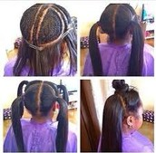 sew in/ weave