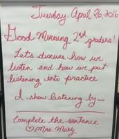 Morning Meet & Greet Message