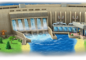 What a hydro plant looks like
