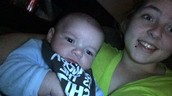 My nephew colby and I