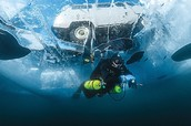 Go Ice Diving in Lake Baikal