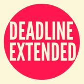 Extended Deadline for Registration