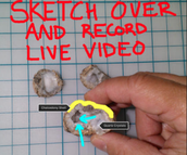 Sketch Over & Record Live Video
