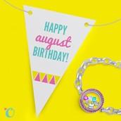 August Birthdays!