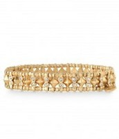 ARRISON STRETCH BRACELET - GOLD OR SILVER