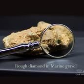 A diamond just found