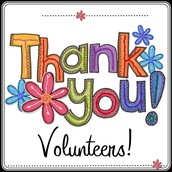 Many, Many Thanks to our Volunteers!