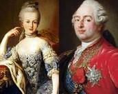 King Louis XVI & Queen Marie Antoniette 👑