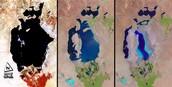 Aralmeer steeds kleiner