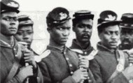 African Americans helped win the war