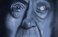 old man eye