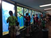 Painting the Open Ocean