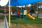 Our large play area