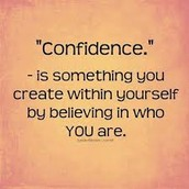EAFK Character Trait: Confidence