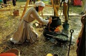 What was the pilgrims life stile like?