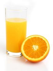 オレンジジュース 300¥