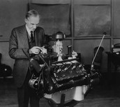 Henry Ford and Engine