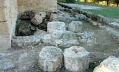 Bases de columnas romanas