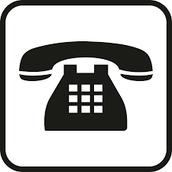 No use el teléfono!