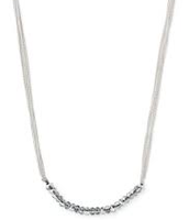SOLD! Piper Necklace - silver
