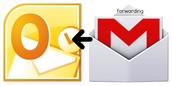Forwarding Gmail to Outlook