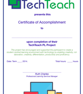 A PL Certificate is awarded