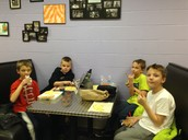 Story lunch in the LC