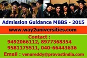 ADMISSION GUIDANCE MBBS - 2015