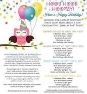 Origami Owl Birthday Party