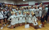 Monrovia Middle School'S Cheerleaders