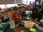 Crafting fun with Mrs. Dhoria