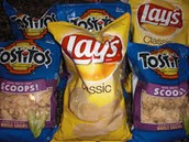 Lays and Tostitos chips