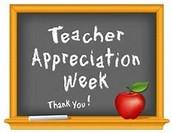 Teacher Appreciation Week: