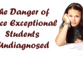Issues with Identification as Twice Exceptional Students:
