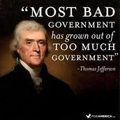 """""""Most bad government has grown out of too much government."""""""