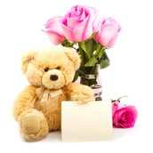 Flowers with Gifts