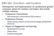 Effective Teachers & Leaders