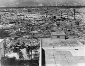 What were the effects of the atomic bomb on Japan and America?