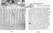 January 16, 1917 - Zimmerman Telegram