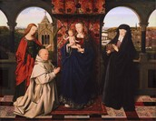 Virgin and Child, with Saints and Donor