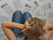 How to pay for bills and use a bank account regarding credit card and debt.