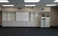 Projection Wall & Storage Area