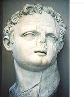 Statue of Domitian's head