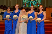 Bethany and her bridesmaids