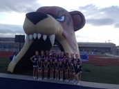 LVJHS Cheerleaders at our last home football game!