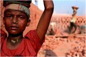 Brick Child Labourer