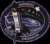 Badge pour mission STS-77